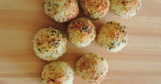 Bolinho de arroz sem farinha (vegano)