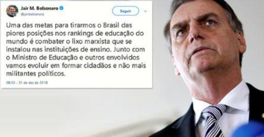 Dimenstein: Lava Jato da Educação é marketing de Jair Bolsonaro