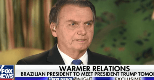 TV americana questiona Bolsonaro sobre morte de Marielle