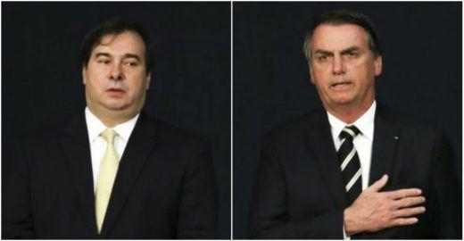 Entenda o bate boca entre Rodrigo Maia e Bolsonaro