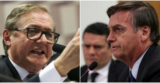 Bolsonaro é capaz de aliviar a de Vélez só pra desmoralizar mídia
