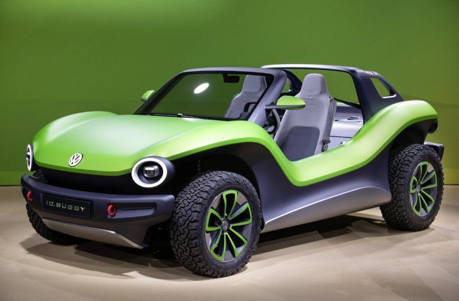 A bateria do buggy elétrico da Volkswagen tem autonomia para rodar 250 km