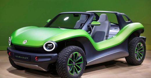 Buggy elétrico da Volkswagen é apresentado no Salão de Genebra