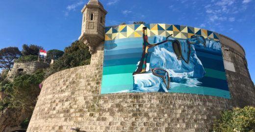 Kobra explica conexão com Mônaco, onde inaugurou street art