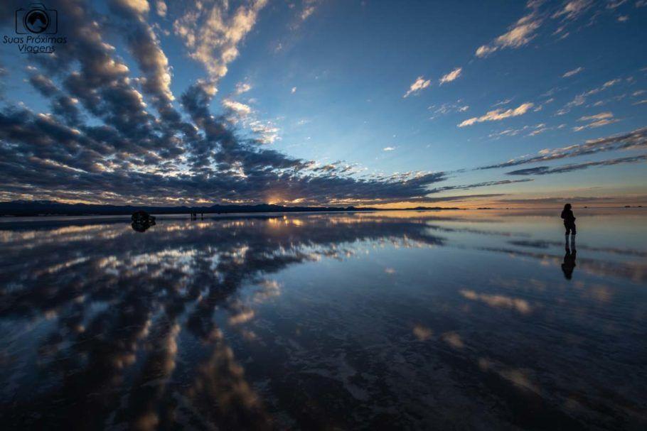 Foto do Amanhecer no Salar de Uyuni
