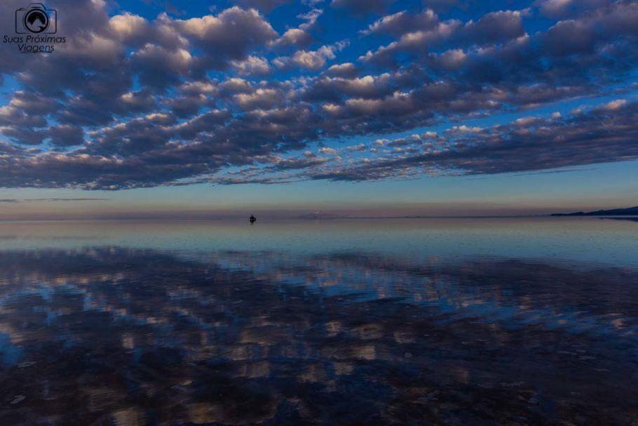 Vista do Amanhecer no Salar de Uyuni