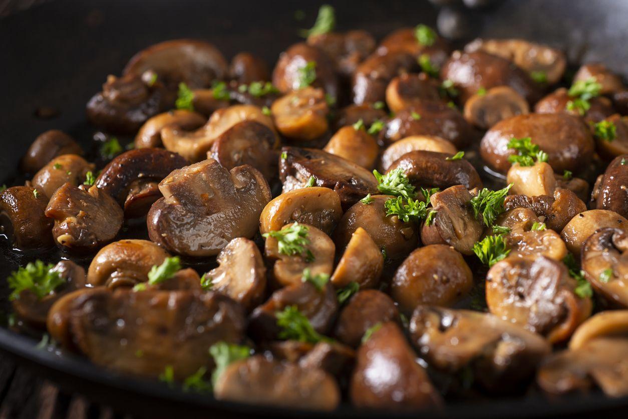 cogumelos temperados