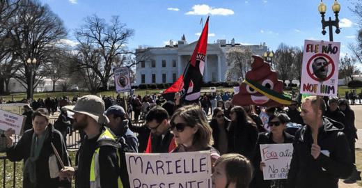 Bolsonaro é esperado com protesto nos Estados Unidos