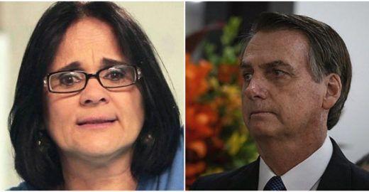 Fala de Bolsonaro me obriga a defender o trabalho de Damares