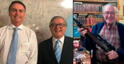 Época:Olavo cita amizade com Bolsonaro em ação contra jornalistas