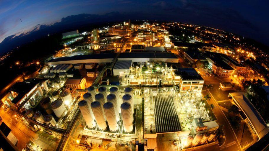 O programa de ecologia industrial da Basf inclui práticas de economia de energia no complexo de Guaratinguetá