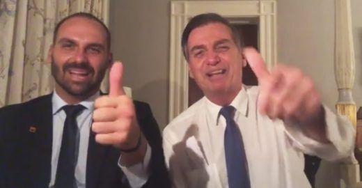 Bolsonaro rebate polêmica: 'Não é nepotismo, eu jamais faria isso',