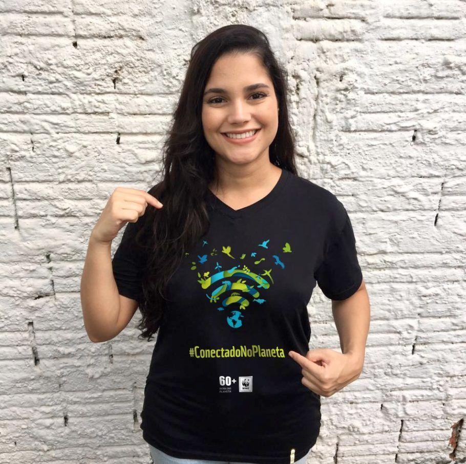 A cantora mato-grossense Ana Rafaela é uma das embaixadoras da Hora do Planeta 2019