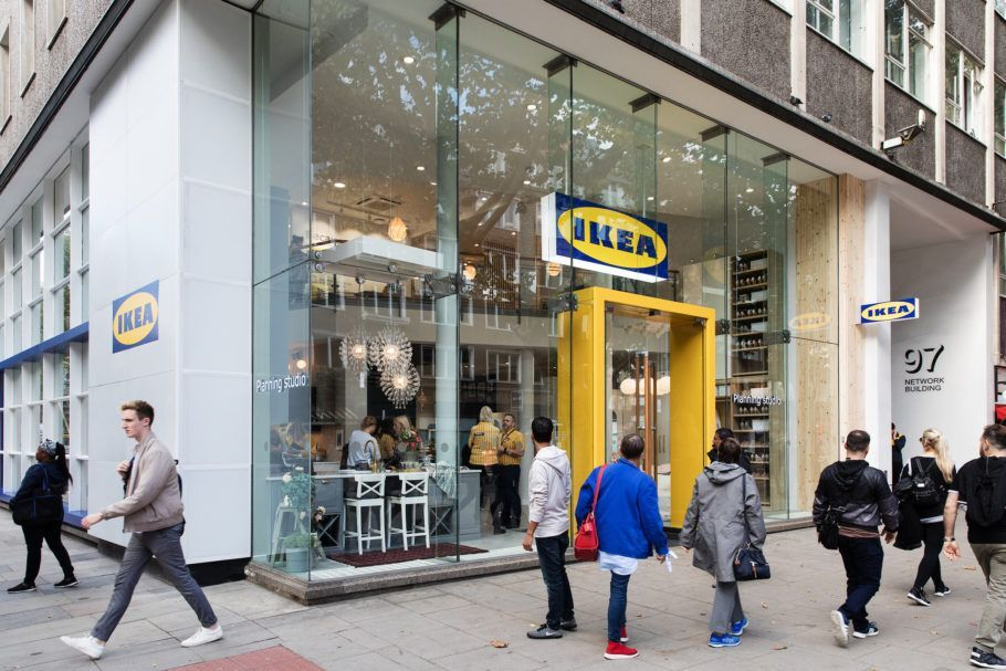 Lojas na Suíça passarão a oferecer aluguel de móveis de escritório