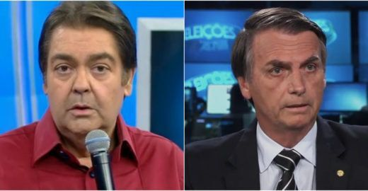 Internautas apontam crítica de Faustão a Jair Bolsonaro