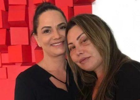 Luiza Brunet e Elaine Caparroz