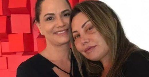 Luiza Brunet recebe em sua casa a paisagista Elaine Caparroz