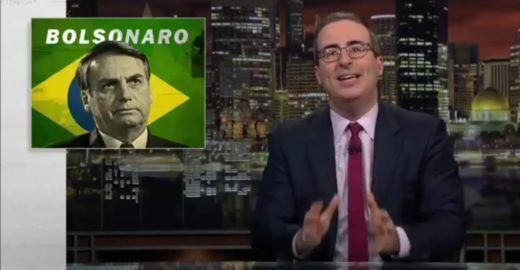 Humor da HBO faz Jair Bolsonaro virar deboche mundial