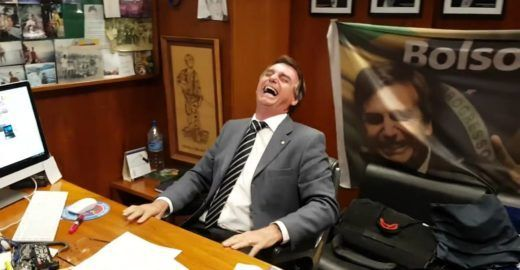 A pior piada de  Bolsonaro sobre violência contra as mulheres