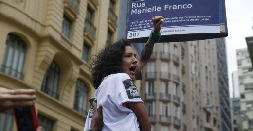 Um ano de luta por Marielle