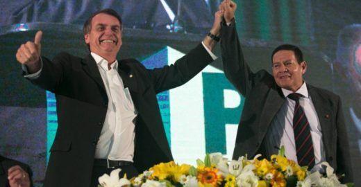 Estadão:  erros de Bolsonaro ajudam Mourão a  virar presidente