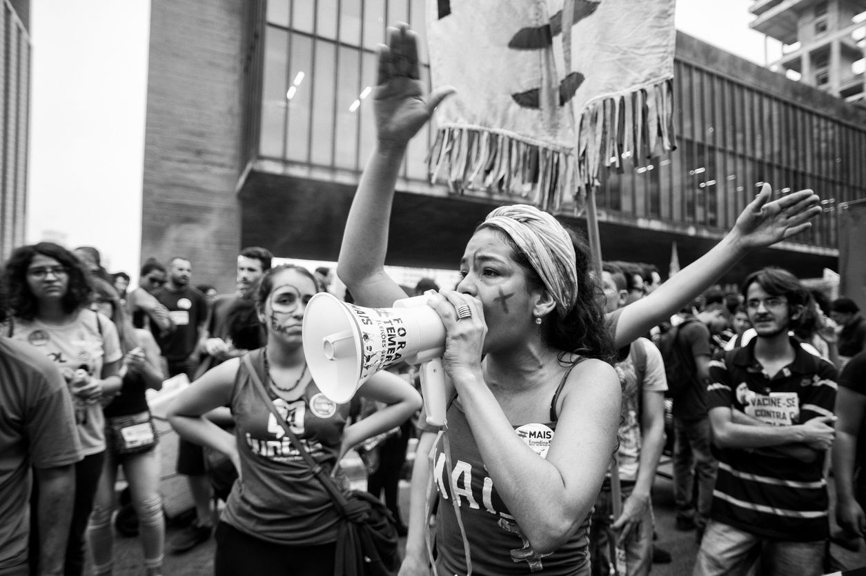 manifestação feminista