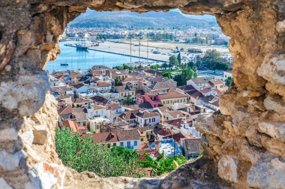 Vista da cidade antiga de  Naflio