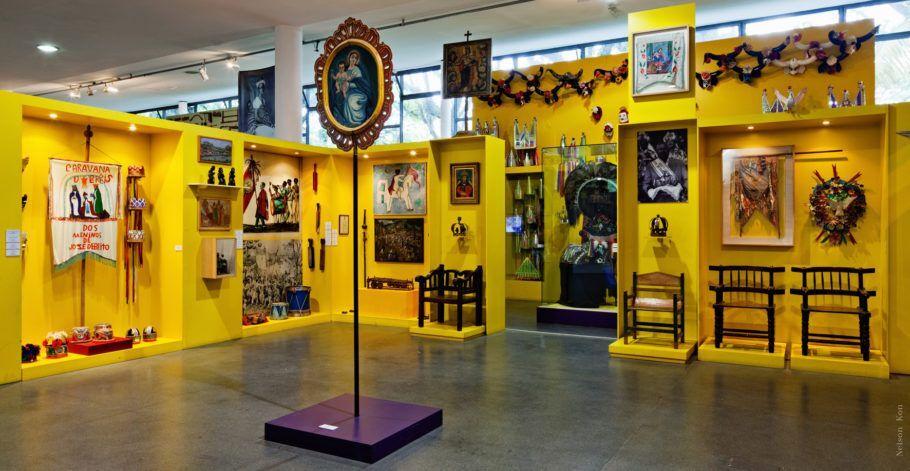 Núcleo sagrado profano no museu afro brasil