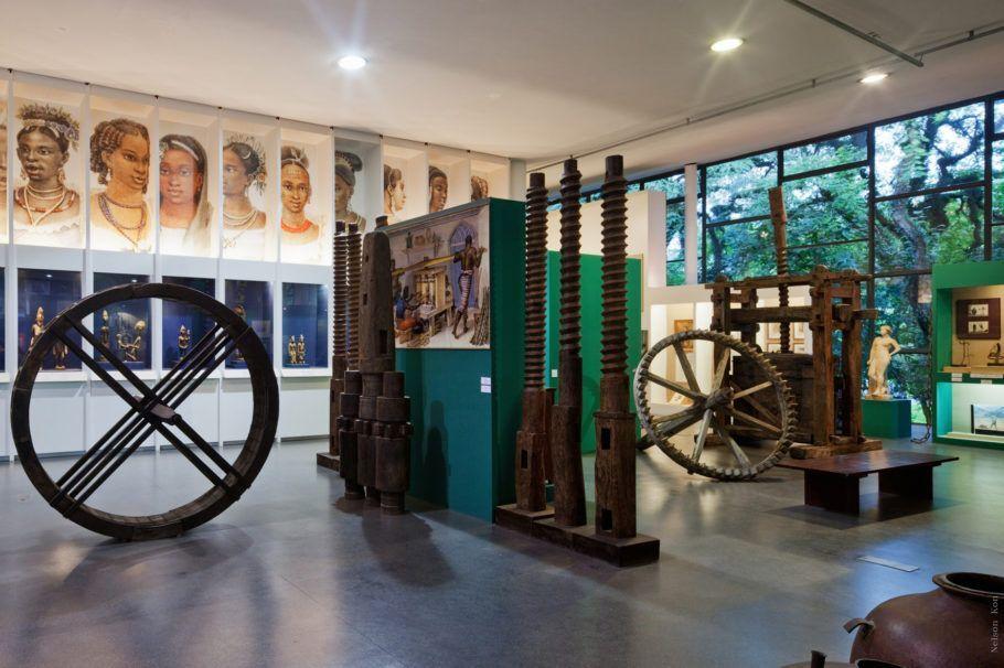 Núcleo trabalho e escravidão do museu afro brasil