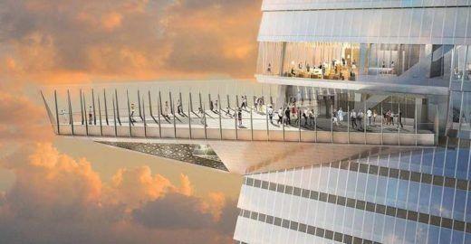 Nova York vai ganhar mirante a céu aberto mais alto do Ocidente