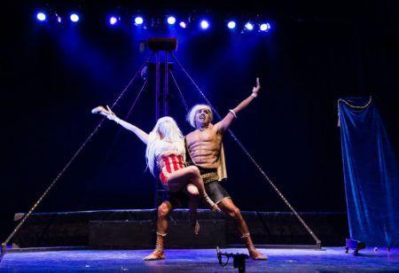"""Espetáculo """"El Esplendor de La Fealdad"""", da Diminuto Circus"""