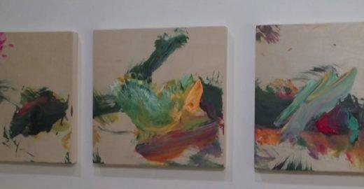 Menina de 2 anos vende quadro de US$ 23 mil em NY