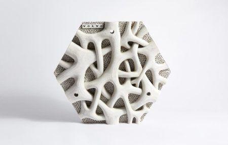 A parede impressa em 3D da Volvo servirá como habitat para espécies marinhas