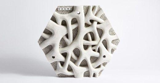 Parede impressa em 3D reduz a poluição no mar