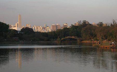 Parque Ibirapuera tem oferece diversas possibilidades de selfies