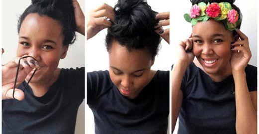 4 penteados incríveis e fáceis para você usar no Carnaval