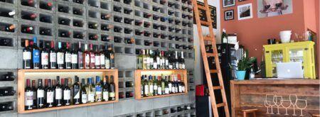 O bar Prosa e Vinho fica no última andar da Galeria Metrópole
