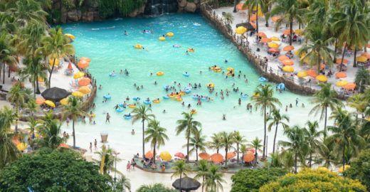 Parque aquático terá tarifa especial nos meses de maio e junho