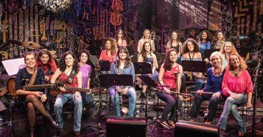 Jazzmin's Big Band convidaAnat Cohen para show na Sala São Paulo