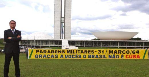 Pancada do Datafolha em Bolsonaro e em sua comemoração do golpe