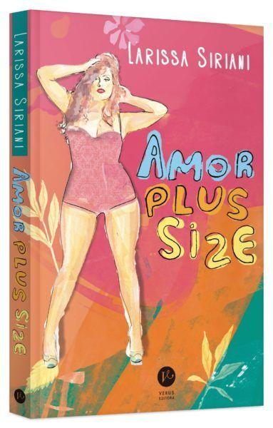 "Livro ""Amor Plus Size"", de Larissa Siriani"