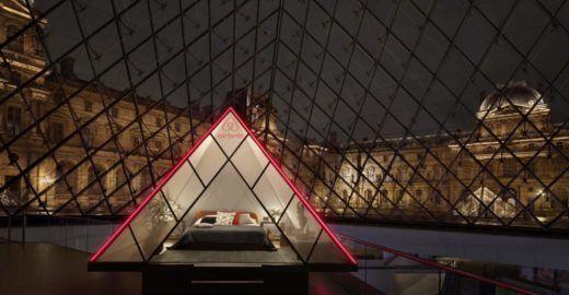 Airbnb oferece hospedagem na pirâmide de vidro do Museu do Louvre