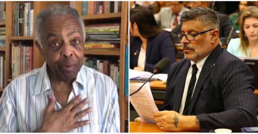 Alexandre Frota é condenado a pagar R$ 50 mil para Gilberto Gil