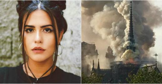 Famosos lamentam incêndio na Catedral de Notre-Dame