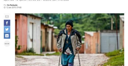 Avó da primeira-dama mora em favela nos arredores de Brasília