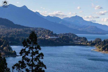 Vista do Lago Nahuel Huapi, Bariloche, Argentina