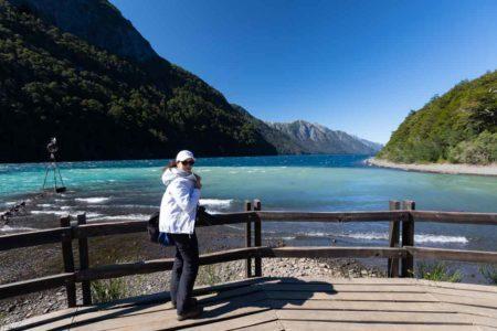 Vista do Encontro Lago Nahuel Huapi e Lago Frias, Bariloche