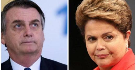 Estadão: Bolsonaro e Dilma têm muita coisa em comum