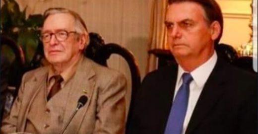 Olavo critica  Bolsonaro e chama militares de