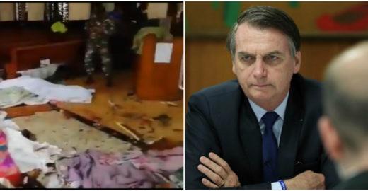Bolsonaro comenta explosões no Sri Lanka e é criticado